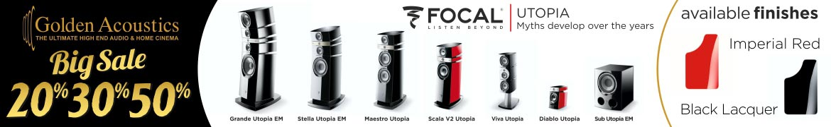 Golden VIP Focal Utopia