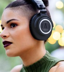 The all-new Audio-Technica ATH-M50xBT headphones !