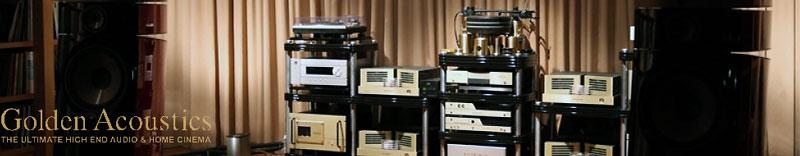 a new partner: Golden Acoustics